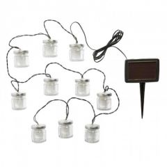 Firefly Jars String Lights 10 Jars - Smart Solar