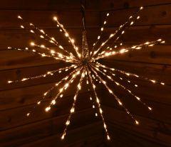 160 Warm White LED Polestar Lights - 70CM