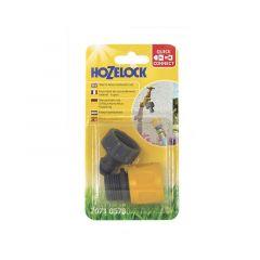 Hozelock Threaded Tap Conn.&Std Soft Touch Hose Conn.