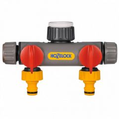 Hozelock 2 Way Tap Connector