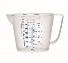 Stewart Garden 0.5 Litre Measuring Jug Clear - Clear