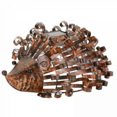 Solar Powered Metal Silhouette Hedgehog - Smart Solar