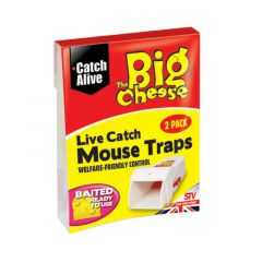 Live Catch Mouse Traps - Twinpack