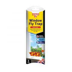 Zero In Window Fly Trap 3pk