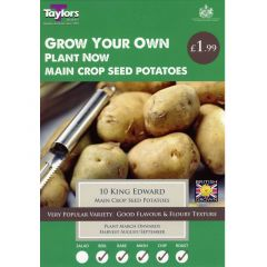 King Edward 10 Pack (Main Crop) - Taylor's Bulbs