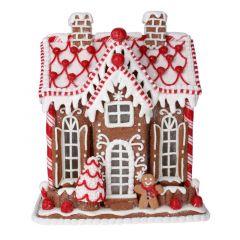 Acrylic Light up Gingerbread House - 24cm