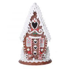 Acrylic Light up Gingerbread House - 35cm