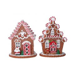Acrylic Light Up Gingerbread House - Battery Operated