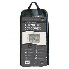 Worth Gardening 4 Seater Round Furniture Set Cover