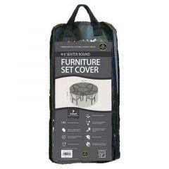 Worth Gardening 4-6 Seater Round Furniture Set Cover