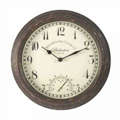 "Bickerton Wall Clock&therm 12"" - GC-SMARTSOLAR"