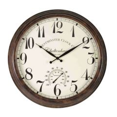 Cheltenham Wall Clock & Thermometer