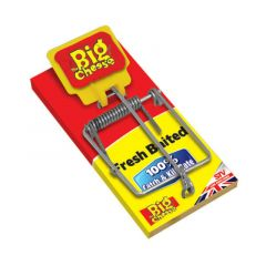 The Big Cheese Fresh Baited Mouse Trap