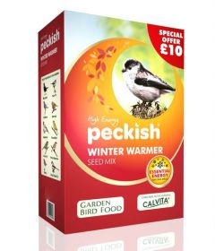 Peckish Winter Warmer Seed Mix 5kg