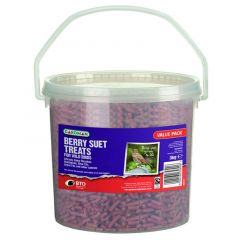 Gardman Berry Suet Treats 3kg Tub