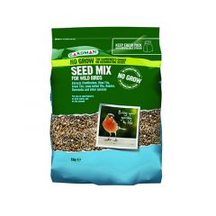 Gardman No Grow Seed Mix 1kg