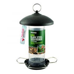 Gardman Large Black Steel Seed Feeder