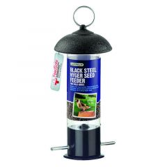 Gardman Black Steel Nyger Seed Feeder