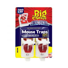 The Big Cheese Ultra Power Mouse Traps - Twinpack