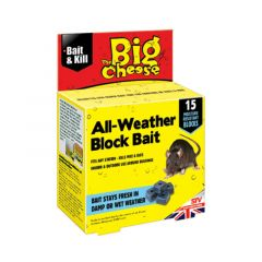 The Big Cheese All-weather Block Bait - 15 Blocks