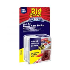 The Big Cheese Ultra Power Mouse Killer Station - Twinpack