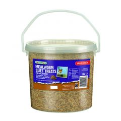 Gardman Mealworm Suet Treat 3kg Tub