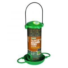 Gardman Filled Flip Top Mealworm Feeder