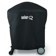Weber® Premium Barbecue Cover - Fits Q™ 100/1000 & 200/2000 with Stand