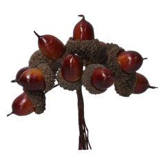 BROWN ACORN BUNCH PICK