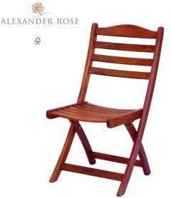 Alexander Rose Cornis Folding Sidechair