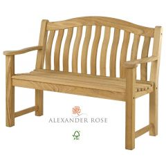 Alexander Rose Roble Turnberry Bench 4ft