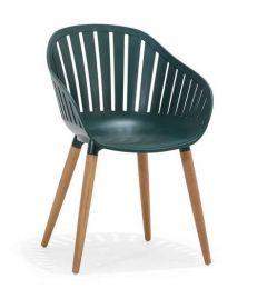 LifestyleGarden DuraOcean Nassau Carver Easy Chair - Green
