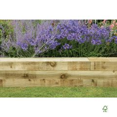 Forest Timber Landscaping Sleeper 240 x 20 x 10cm