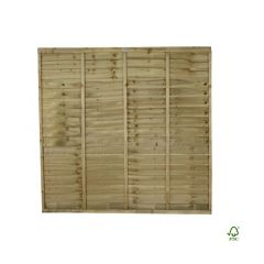 Forest Pressure Treated Superlap Panel 6 x 6ft