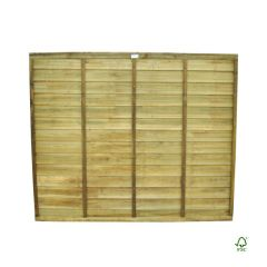 Forest Pressure Treated Superlap Panel 5 x 6ft