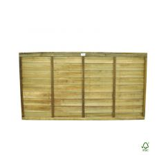 Forest Pressure Treated Superlap Panel 6 x 3ft