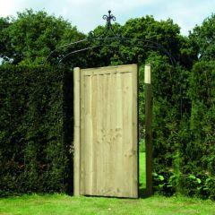 Elite Featheredge Gate - Green