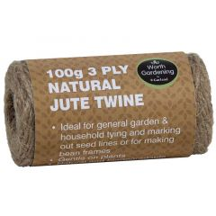 Garland 100g 3 Ply Natural Jute Twine