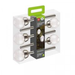 Classic Majestic - Stainless Steel Stake Lights - 5 Pack - Smart Garden