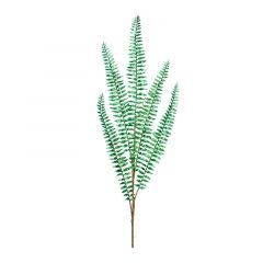 FERN SPRAY GREEN GLITTER
