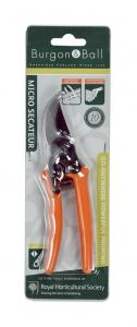 Burgon & Ball - Micro Secateur - RHS Endorsed Terracotta handle