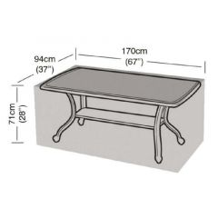 6 Seater Rectangle Table Cover - Worth Gardening