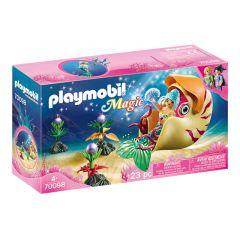 Magic: Mermaid With Sea Snail Gondola - Playmobil
