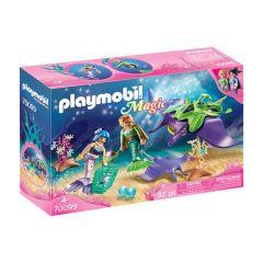 Magic: Pearl Collectors With Manta Ray - Playmobil