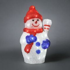 Konstsmide Acrylic LED Snowman 38cm