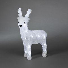 Konstsmide Acrylic LED Reindeer 23cm