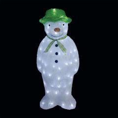 The Snowman™ Acrylic LED Figure