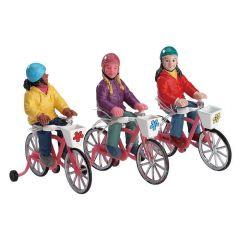 Lemax Bike Ride Set Of 3
