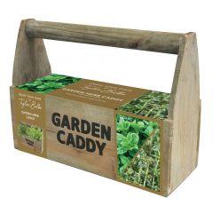 Wooden Garden Caddy - Taylor's Bulbs