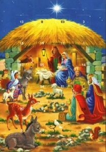 Advent Calendar - Nativity Scene